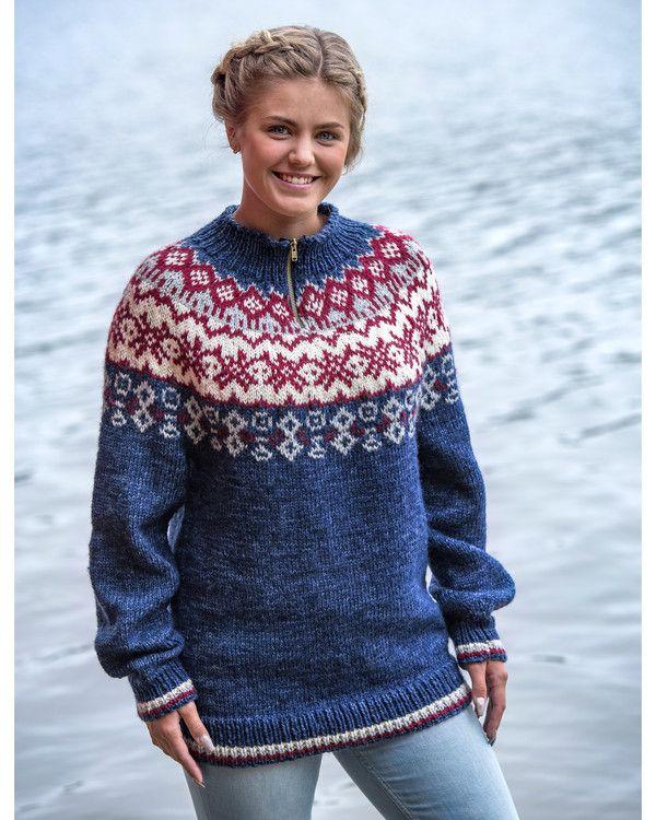 Genser Andrine | Knittingroom