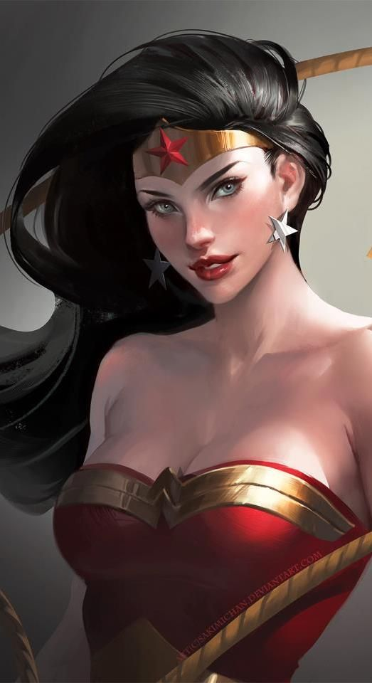 Wonder Woman has to be a babe to get Batman's attention ;)