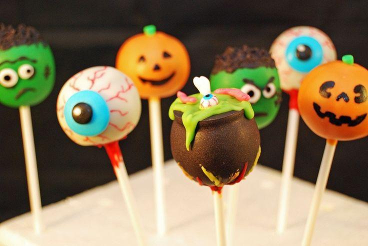 Halloween cake pops! — Cake Pops / Cake Balls