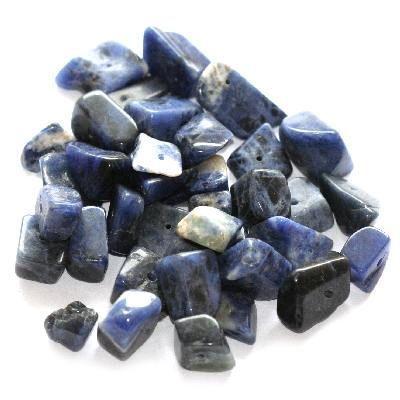 2362: kamień duży sodalit w Maxbeads na DaWanda.com
