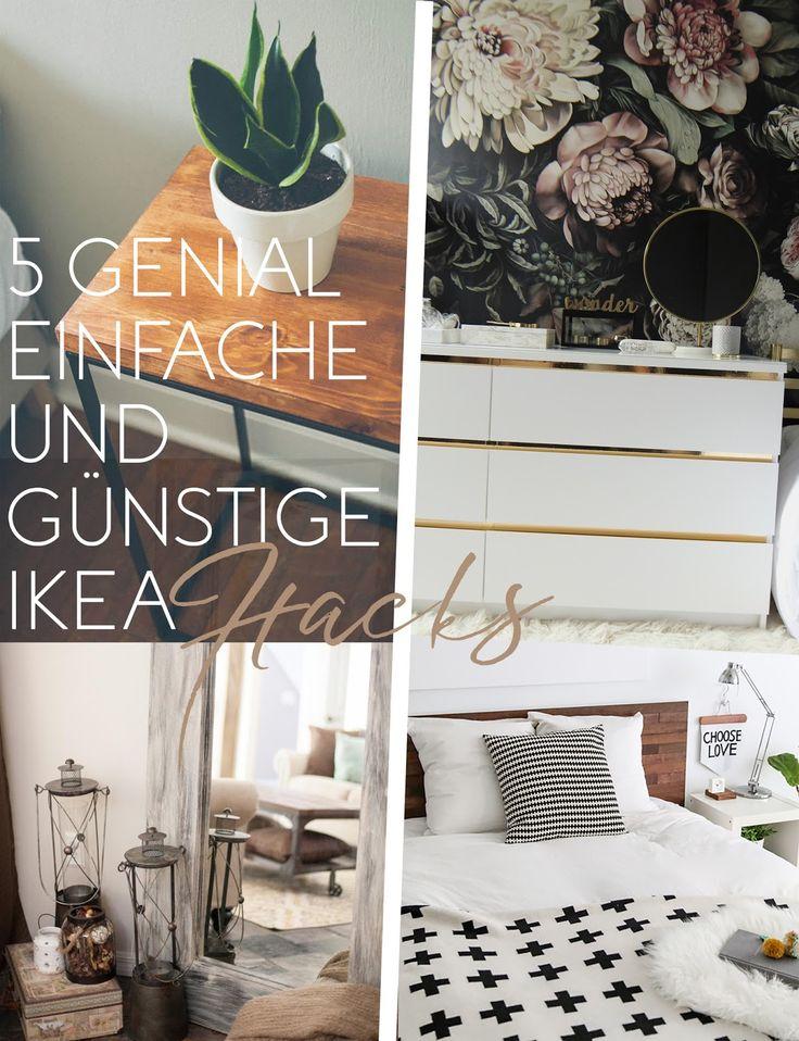 5 genial einfache und günstige Ikea Hacks