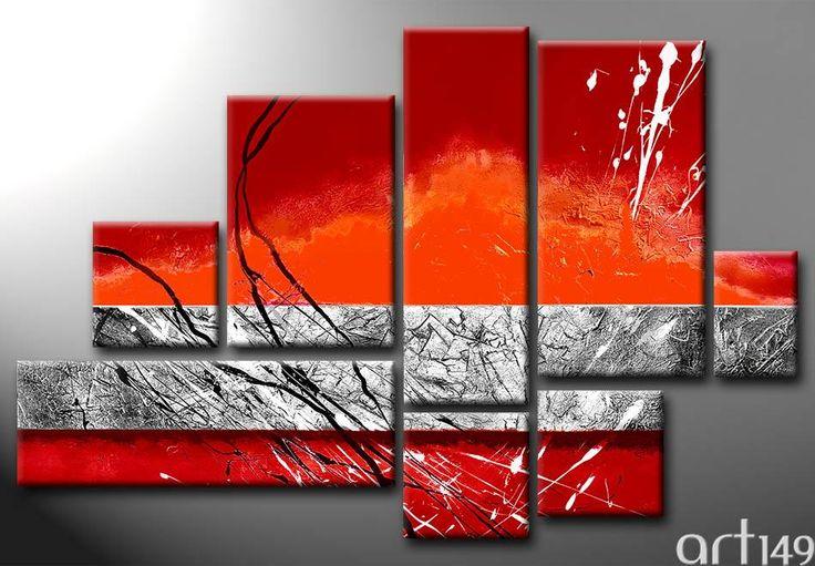 Tableau contemporain - Tableau 5291 - Cliquez pour agrandir le tableau