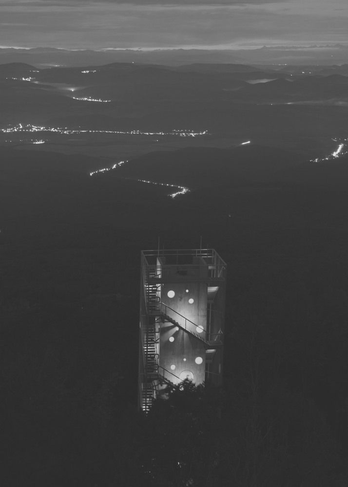 Gallery of Lookout Tower at Galyateto / Nartarchitects - 9