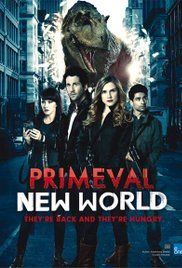 Primeval: New World is a Canadian spin-off of the British series Primeval. Both are about time portals opening up that let  dinosaurs and prehistoric animals into the present.