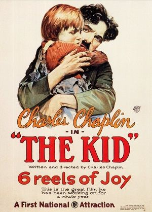 """""""The Kid"""" directed by Charlie Chaplin / 2nd grossing film in 1921..."""