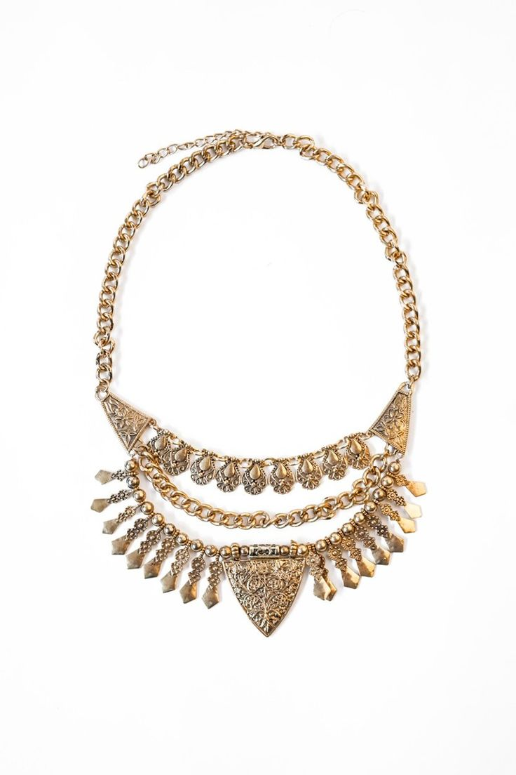 Collar Margaret Oro Estancias Chiripa - $ 286,00 en MercadoLibre
