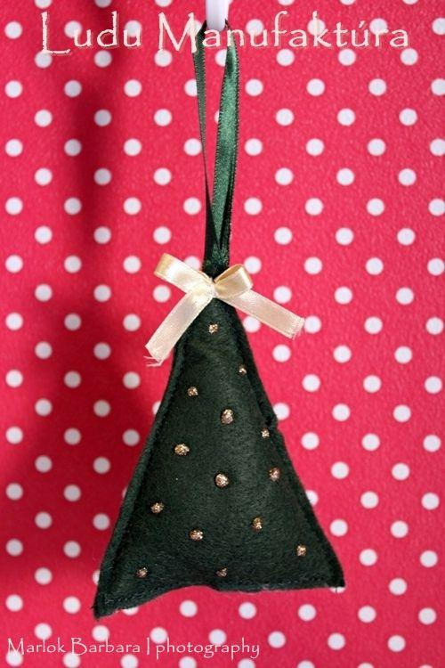 christmas fabric decor