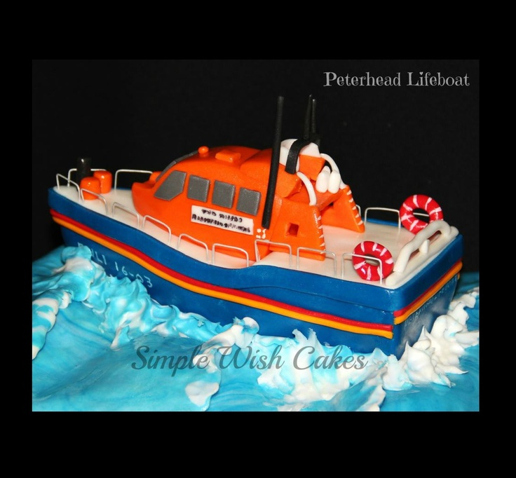 Lifeboat Cake Decorations