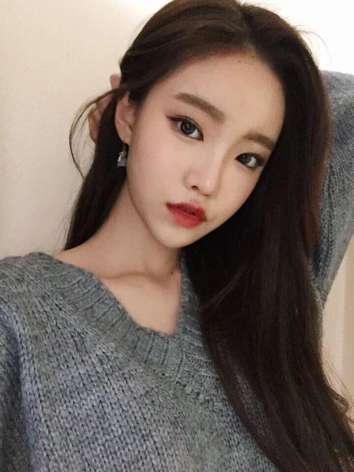 Ulzzang Makeup Tips: 23 Best Da Bin Ulzzang Images On Pinterest
