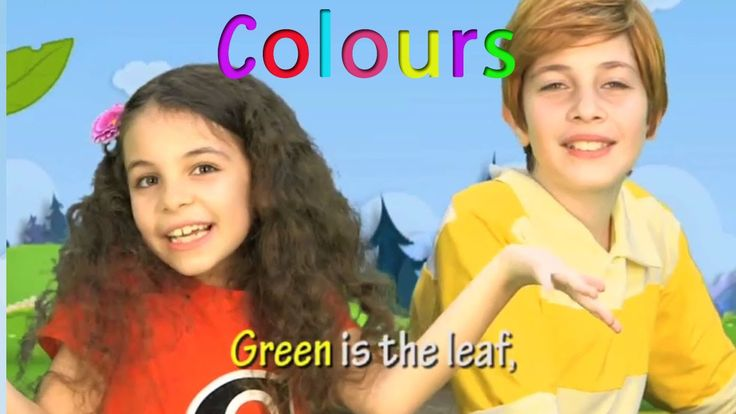 http://www.helendoron.com Kids learn English through popular and original songs with the Helen Doron Song Club. Your kids will enjoy the brightly colored animations and videos, while learning English with a leading worldwide brand. English rhyming songs about colours for children! Blue is the Sky. Red is the cherry. Yellow is the sun. Colors for everyone! Green is the leaf. Purple is the flower. Orange is my hair. Your child will love learning colours in English the natural way, with this…
