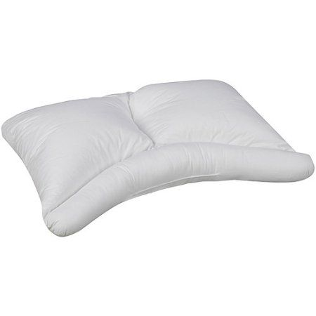 HealthSmart Side Sleeper Pillow, 24 inch x 16 inch, Multicolor
