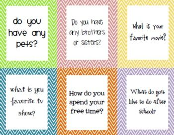 Chit Chat Conversation Game for Social Skills