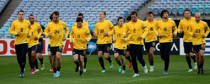 Good luck to the Socceroos tonight against Iraq (18June13)