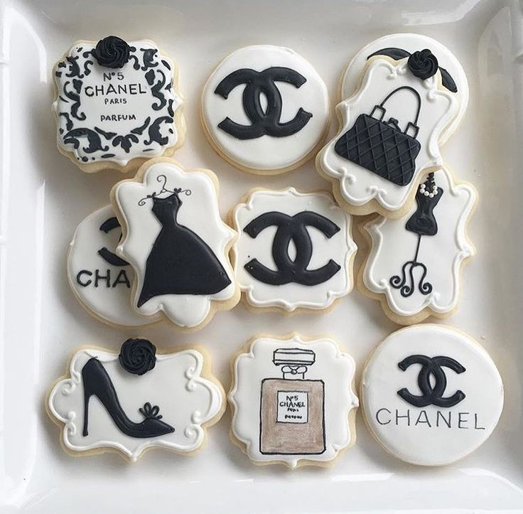 Coco Chanel cookies