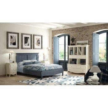 Dormitorio de matrimonio de madera. http://www.tiendamueblesonline.net/muebles-dormitorio/114-dormitorio-de-matrimonio-mediterraneo.html
