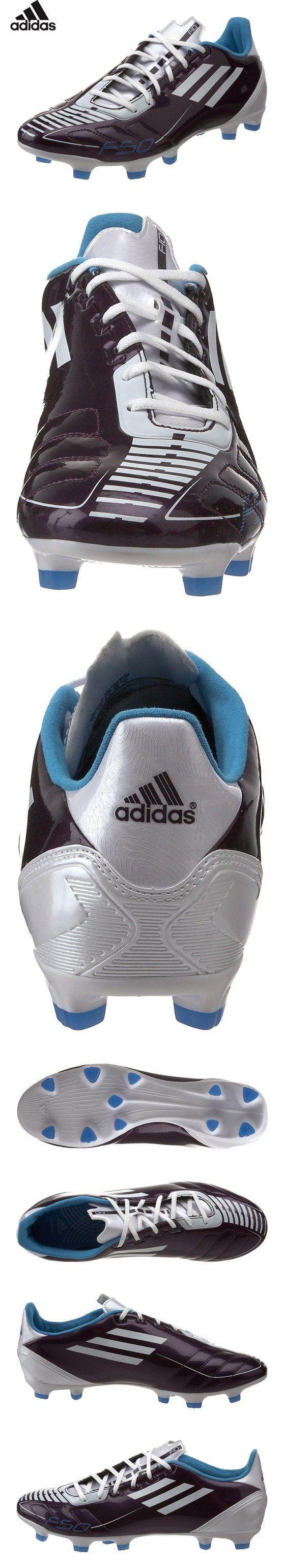 $40 - adidas Women's F10 TRX FG Soccer Shoe,Running White/Black/Slime,5 M US