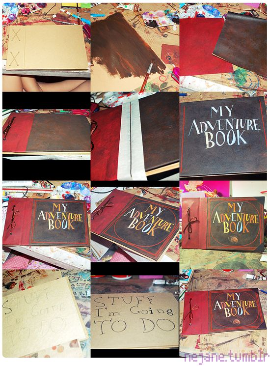 Make your own adventure book and have others write nice things in it later put pictures in the book