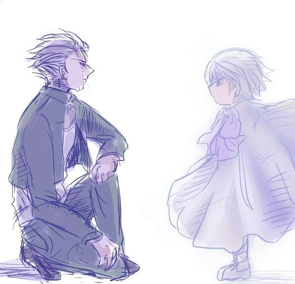 Zatch Bell goodbyes Defaux and Zeon