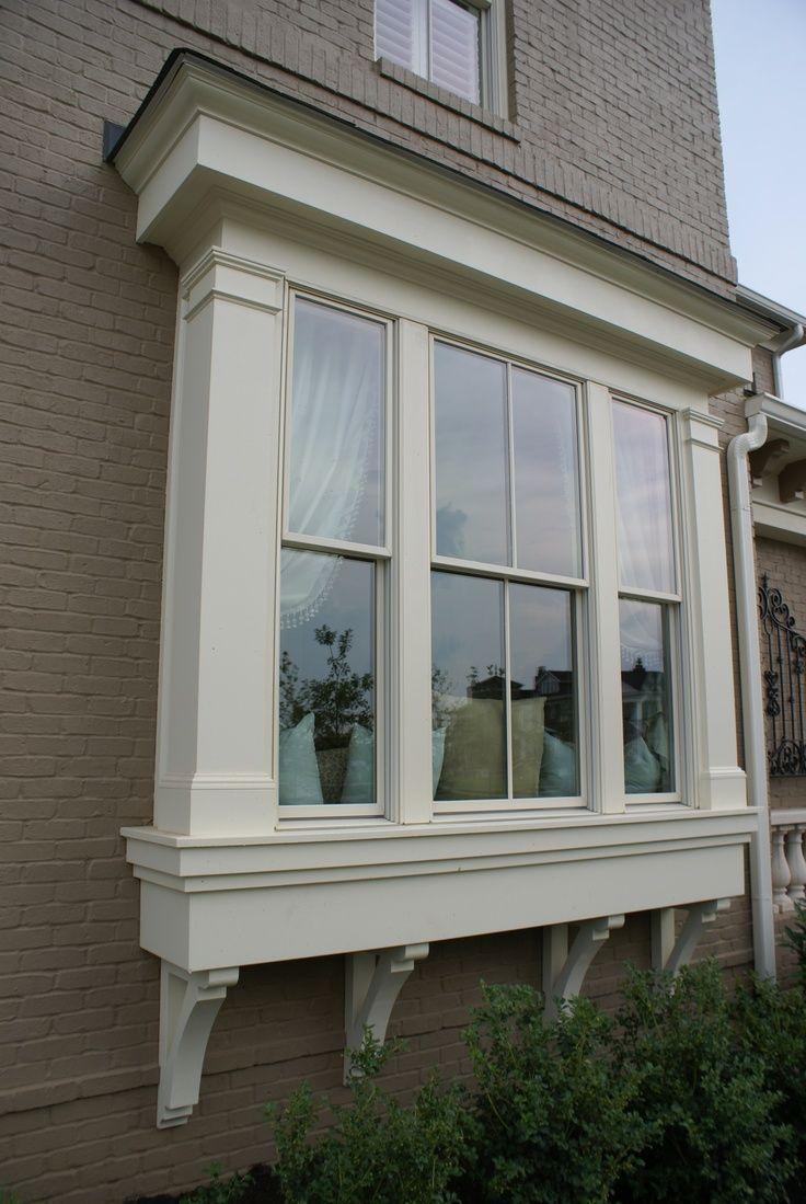Modern Exterior Window Trim Ideas For Ideas And Remodel Window Trim Exterior Bay Window Exterior Windows Exterior