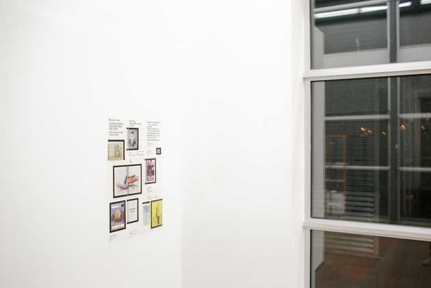 Laurenz Brunner, uitnodiging tentoonstelling Vertaalde Werken / Translated Works, Barbara Visser 1990-2006. © Jordi Huisman, Museum De Paviljoens