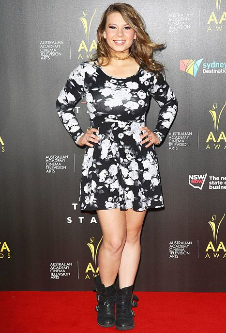 Bindi Irwin, Steve Irwin's Daughter, Is Glam, Grown Up at AACTA Awards Jan. 30 2014 - Us Weekly