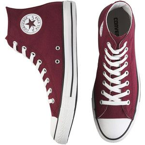 6a1fc1375227 burgundy converse high tops - Google Search