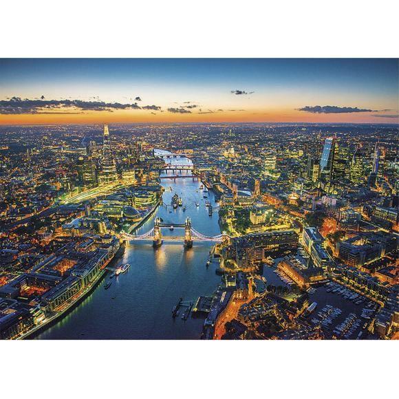 Puzzle 1500 peças Vista Áerea de Londres