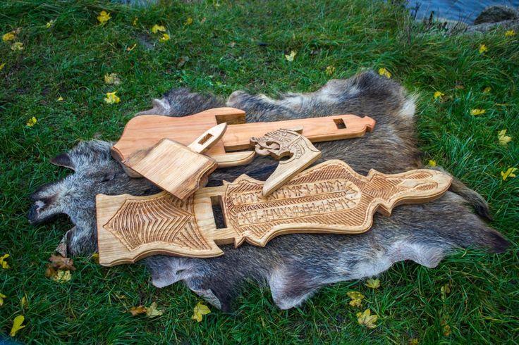 Viking carving wood pinterest