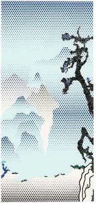 Roy Lichtenstein  American (1923 - 1997), Landscape with Philosopher