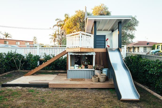 Kyal & Kara create the ultimate cubby house for their son