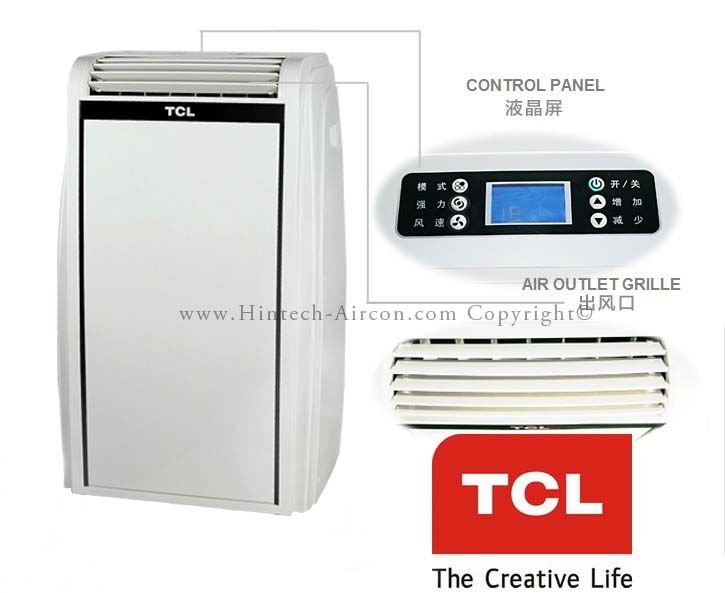 tcl portable is an italian design and technology for asian market by tcl and the - Air Conditioner Portable