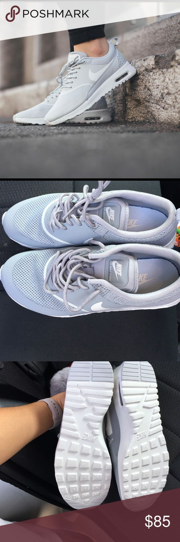 NEW grey nike AirMax Thea!! Never worn, bought my size but they run a little small! Size 7 never worn Nike Shoes Sneakers