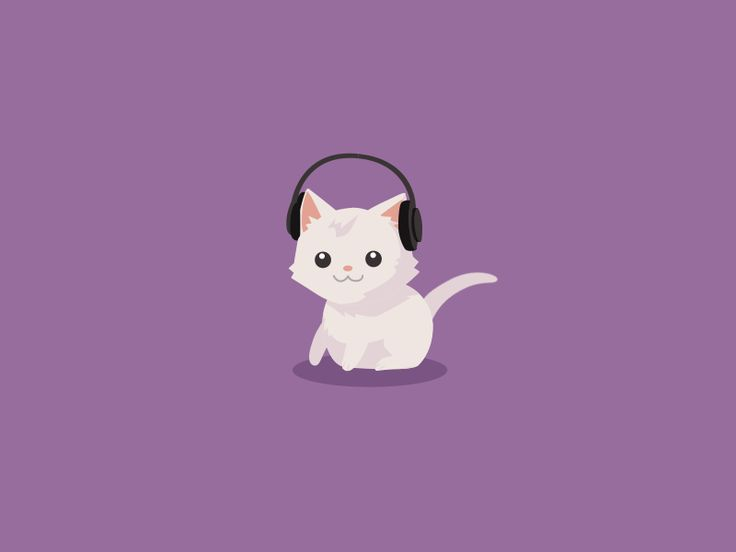 Fat Cat [gif]. Looing animated gifs 2d vector