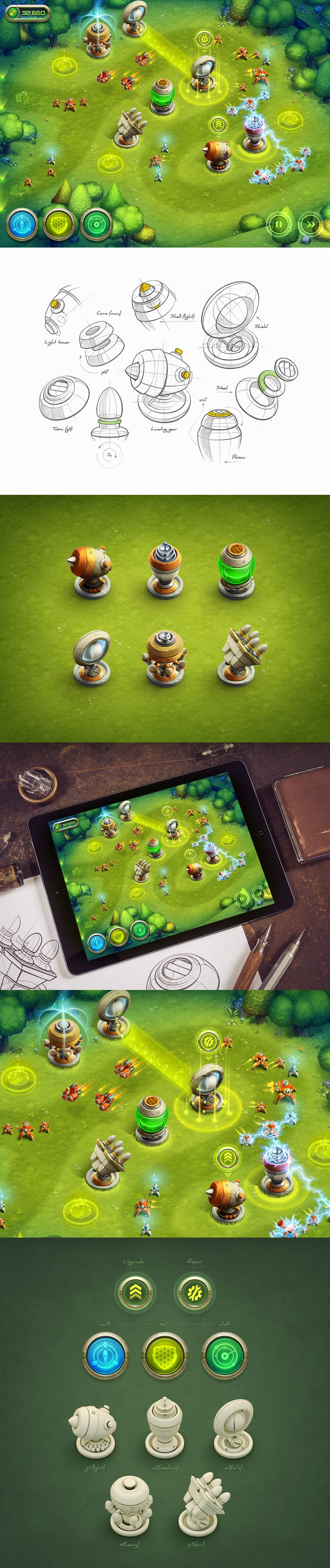 Tower defence ios game