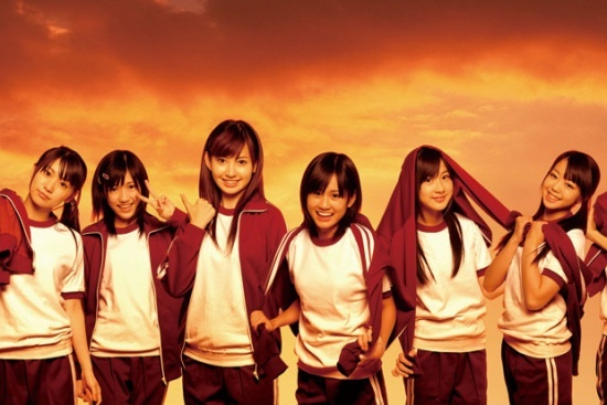 AKB48 (circa 2007), while promoting their single Yuuhi wo Miteiru ka. This was when I started following them, way before their popularity boom a few years later.