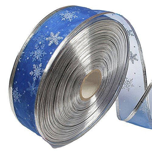 Pink Lizard Blue Silver Serging Ribbon Christmas Trees Decoration Supplies * Learn more by visiting the image link.