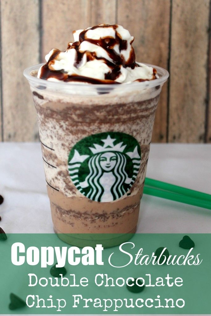 CopyCat Starbucks Double Chocolate Chip Frappuccino