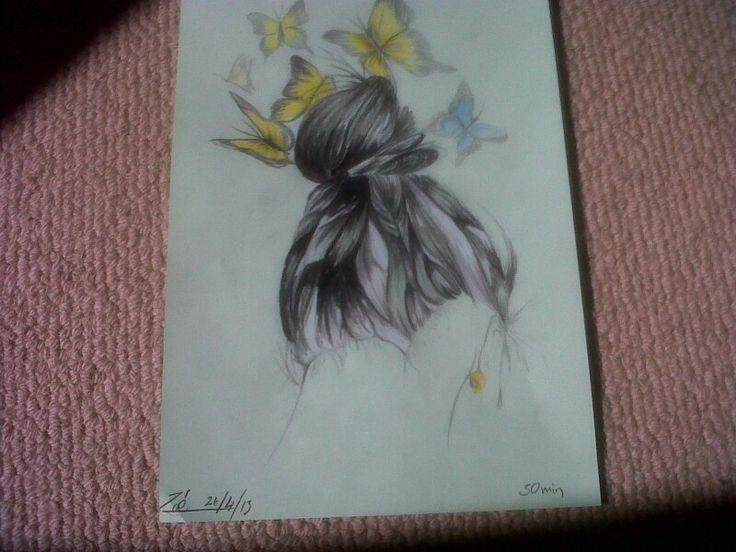 Butterflies in my mind