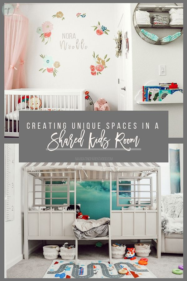How Do You Create Unique Spaces For Your Children In A Shared Room