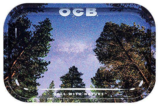 """OCB Rolling Tray - Milky Way (Medium 11"""" x 7.5"""")"""