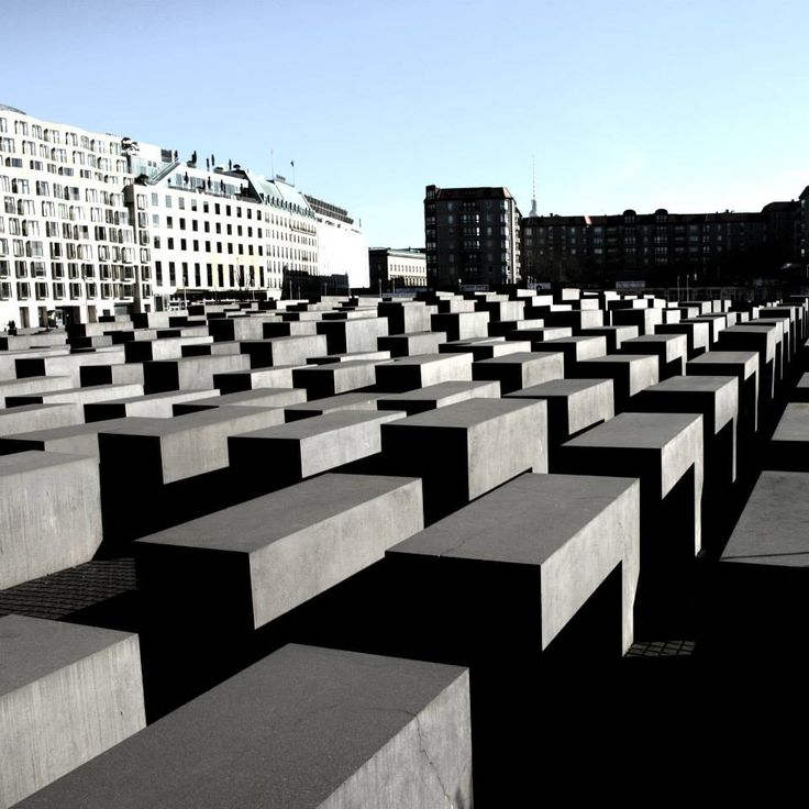 GERMANY - Berlin - Denkmal für die ermordeten Juden Europas, or in English Memorial to the Murdered Jews of Europe