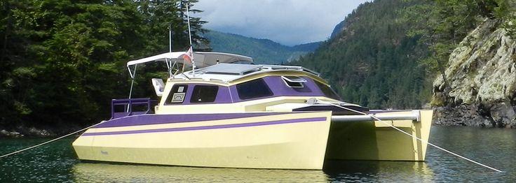 Sailing Catamarans - Skoota 32 demountable version