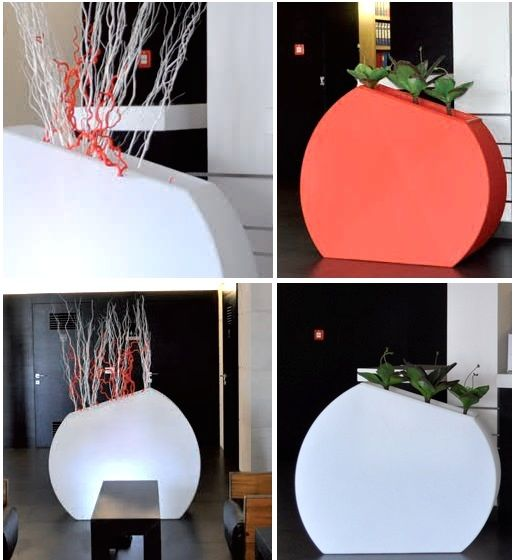 11 best macetas con luz tipo lounge images on pinterest - Macetas con luz ...