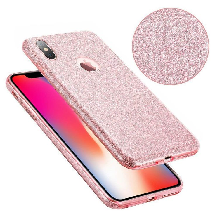 For iPhone X Glitter Case Premium Protection Girl Slim Lightweight New #Eraglow