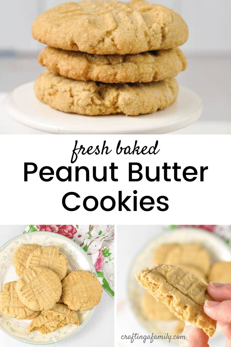 Jul 4, 2020 – Classic cookie recipe for Peanut Butter Cookies using pantry ingredients and a hand mixer. When you want t…
