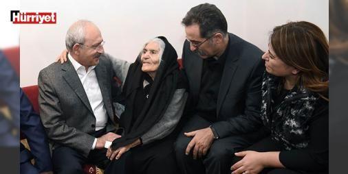 Kılıçdaroğlundan Ali Tatarın ailesine ziyaret : CHP Genel Başkanı Kemal Kılıçdaroğlu Ergenekon davaları sürecinde tutuklanıp serbest kaldıktan 3 gün sonra yaşamına son veren Yarbay Ali Tatarın ölüm yıl dönümü nedeniyle Ankarada yaşayan annesi Satı Tatarı ziyaret etti.  http://www.haberdex.com/turkiye/Kilicdaroglu-ndan-Ali-Tatar-in-ailesine-ziyaret/130625?kaynak=feed #Türkiye   #Tatar #Kılıçdaroğlu #ziyaret #dönümü #ölüm