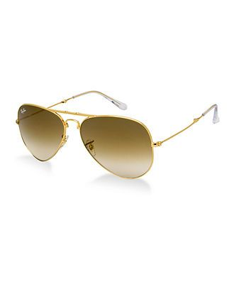 Ray-Ban Sunglasses, RB3479G Folding Aviator (58) - Sunglasses by Sunglass Hut - Handbags & Accessories - Macy's