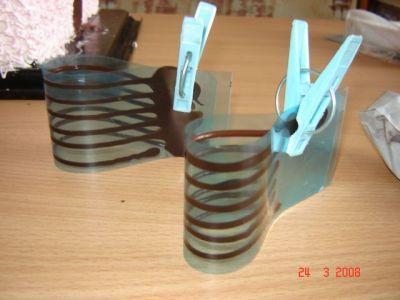 Шоколадные петельки
