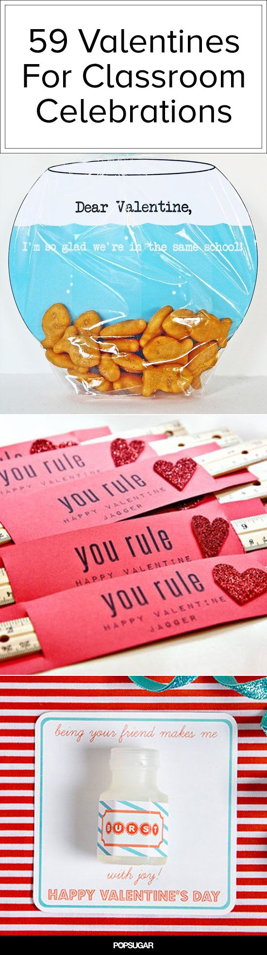We love all these printable Valentine's Day cards for school!