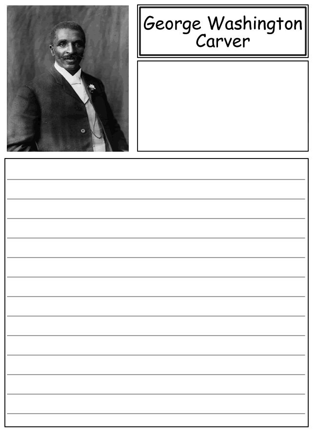 A short paper on george washington carver